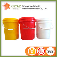 professionally produce pp bucket lightweight round pail with handle