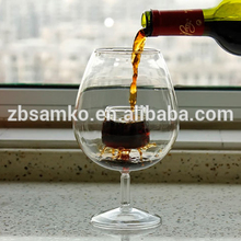 Clear glass red wine glass design wine decanter