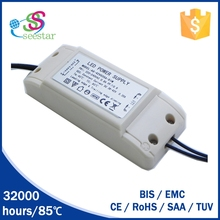 meanwell led dimmable driver 30w 36w 50w 1.2A output isolated 0-100% triac dimming driver