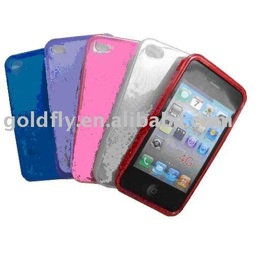 TPU case for i-Phone4 (GF-IPH4-AD002) (tpu case for galaxy s2/tpu case for galaxy gio s5660/tpu case for sam i9100)