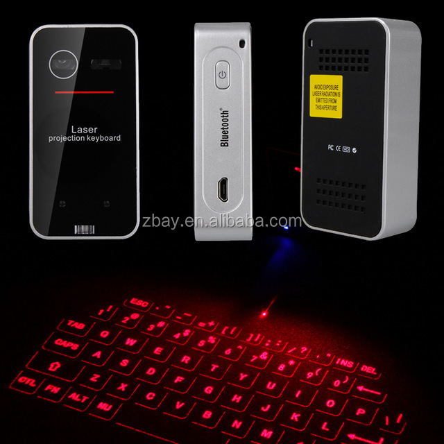 New Mini Portable Virtual Laser Keyboard Wireless Projection Bluetooth