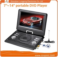 Include Display and Home Use portable dvd player with tft screen united