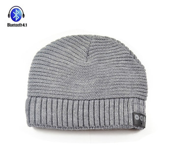 Langder Wholesale Factory Custom New Fashion Winter LED Glowing Knit Beanie Hat