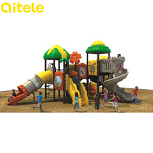 Best quality used school outdoor playground slide equipment for sale, toys for kids playground