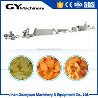 Crispy Triangle Corn Chips Small Food Machine 100-250kg/h