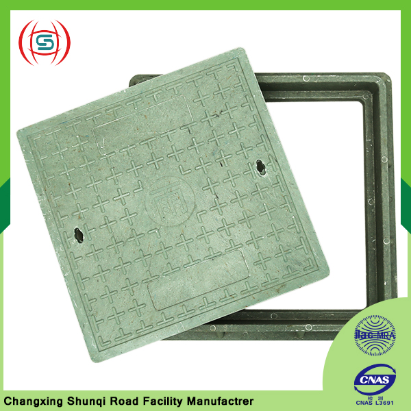 Supply square manhole sewer covers and frame for city road