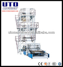 UTO Brand SJ Series Double Layer Co-Extrusion Rotary Film Blowing Machine