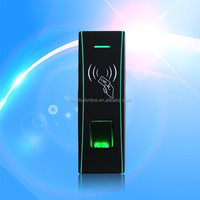 Waterproof Small size fingerprint access control terminal embedded proximity card reader