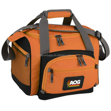 600-denier polyester duffel 12-can thermal cooler bag
