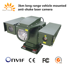 Long distance Vehicle Mounted Anti-shake Optical System Day and Night Laser Camera