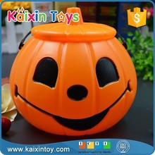 Light Up Halloween Pumpkin Bucket For Party
