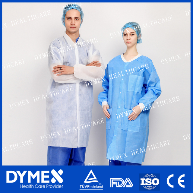Best Designs Women Using PP Medical Lab Coat with CE ISO Approved