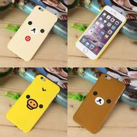 Cartoon Animals Relaxed bear pc Case For iphone6 4.7inch /6 plus 5.5inch for samsung