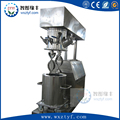 Dual shaft mixer machine