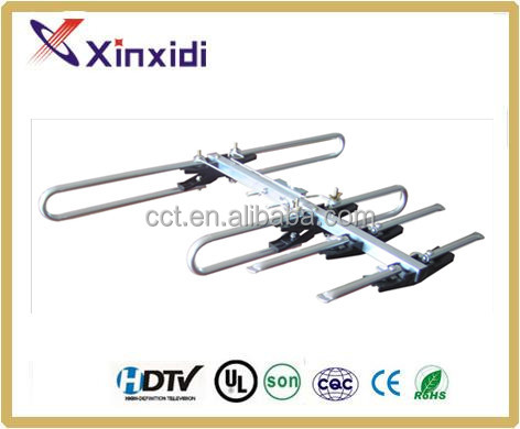 Outdoor VHF UHF DVB-T2 Digital Passive Yagi TV Antenna