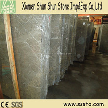 imported polished Sicily grey marble slabs