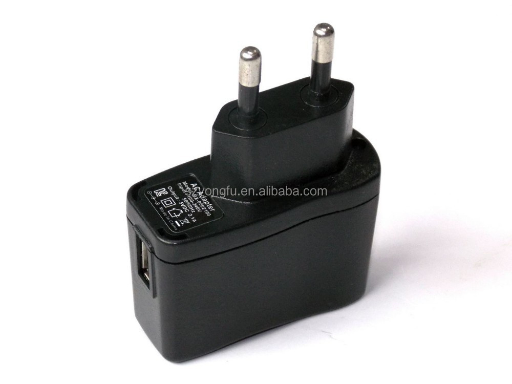 5V 1A Portable ac/dc adapter for PSP Game player with KC ROHS