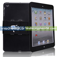 Detachable 360 degree rotating PC case for iPad mini all-round protection with Velcro