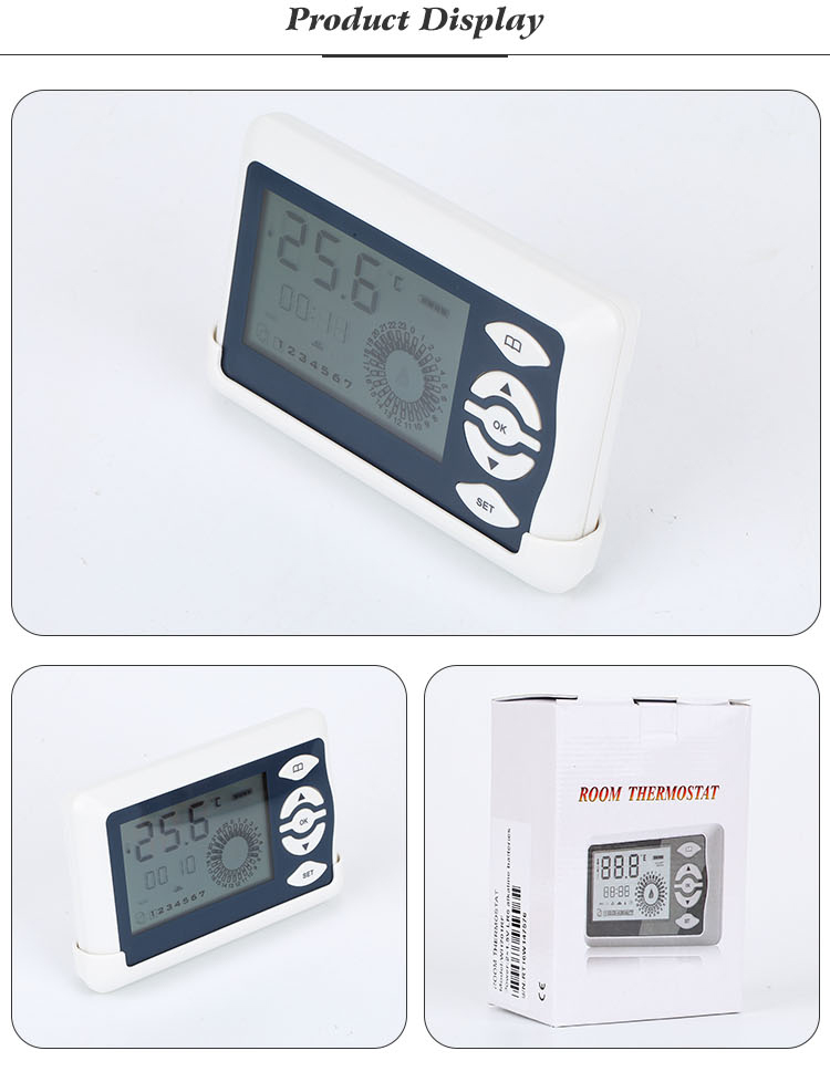 Best Price Battery Power Operated Digital Gas Boiler Thermostat