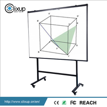 Innovative products Interactive E-Learning Smart finger touch Whiteboard With Wheel Stand