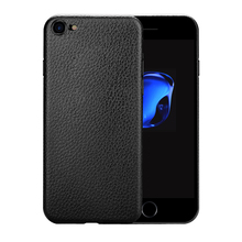 Hottest products 2017 in market cell phone accessory soft TPU leather pattern skin mobile back cover for iphone 7