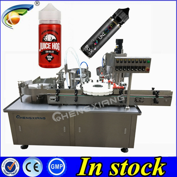 10ml 30ml e liquid bottle filler and capper e cigarette liquid filling machine