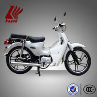 White 50cc Moped Motorcycle With EEC Certificate,KN50-4C