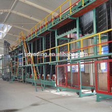 Self adhesive asphalt bitumen waterproofing membrane machine/production line,asphalt membrane machine