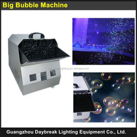 Stage Effect Equipment Big Bubble Machine 200w Remote Control Bubble Maker Machine Continue Bubble Spray for Wedding Party Show