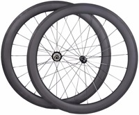 Factory sale!!OEM 700c Tubular Full Toray Carbon Road Bike Rims Wheels