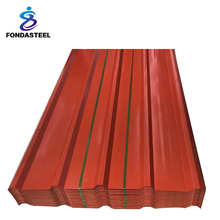 28 gauge corrugated steel zinc aluminium for carport roofing sheet