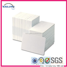 New Designed Manufacturing Plastic White Blank Pvc Gift Id Card