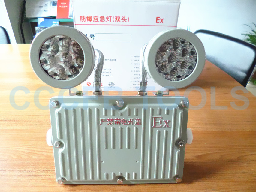 Explosion-proof double-headed emergency light,Non-sparking emergency lamp,Explosion-proof Electrical Equipment