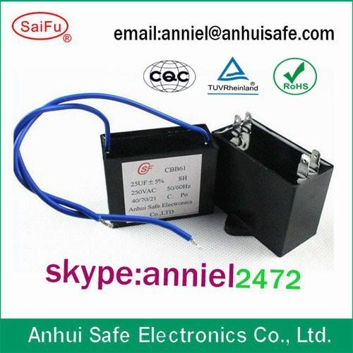 Condensatore 10uf 450v 25 85 21 Sh Cbb61 Per Il