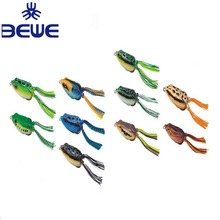 2018 New China Soft Lure Plastic Jump Frog Lure