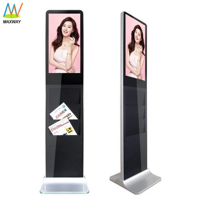 22&quot; multi media tablet stand <strong>advertising</strong> with camera lcd tv airport custom types of kiosk