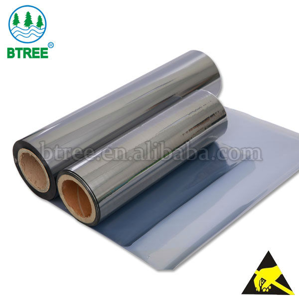 Btree PET Laminating PE Antistatic Film For ESD Bags to Protect Electronical Parts