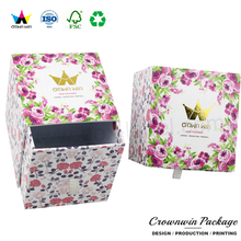 Dong Guan Crown Win Match Custom Printed Hat Present Sweets Box Design