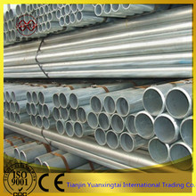 Hot dipped galvanized erw steel structure pipe