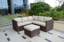 Rattan Outdoor Garden Big Corner Sofa Set Furniture