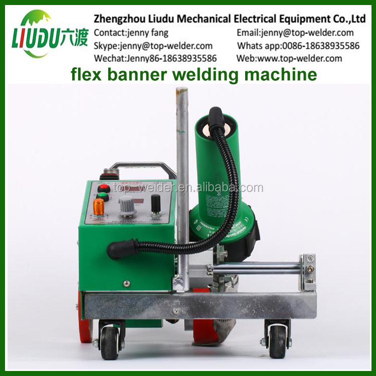 Hot Air Welder For Banner Overlap Welding