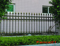 square wire mesh fence