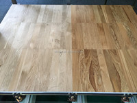 Calcium sulphate raised access floor with wood laminating