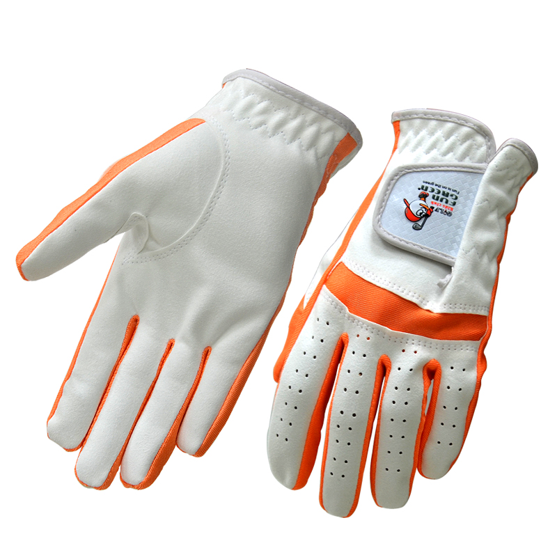 Children Golf Gloves with Custom logo, OEM Kids Microfiber Sports Gloves from Manufacturer