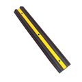 factory sale 100*16*4cm yellow stripe rubber wall bump