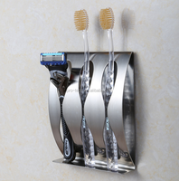 Bathroom Accessories Set Stainless Steel Toothbrush Holder