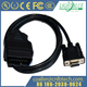 OBD2 16-Pin to DB9 9-pin Serial Port RS232 OBD 2 Adapter Cable Car Diagnostic
