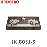 JK-G03K-C glass top erou gas stove gas cooker