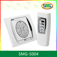 SMG-5004 Smart Remote Control Electrical Wall Socket Switch Touch Control Switch