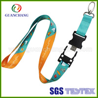 Oem cheap lanyard usb memory stick, usb flash drive lanyard